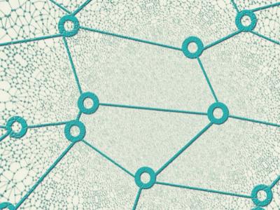 rondjes verbonden met lijnen die een lijnenspel creeeren waarbij de verbinding met jezelf centraal staat