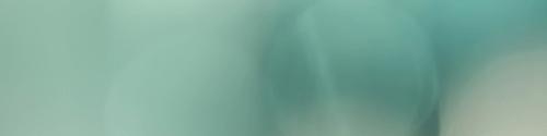 je ziet een wazige afbeelding, het enige wat je waarneemt in vage lichtblauwe kleurscharkeering